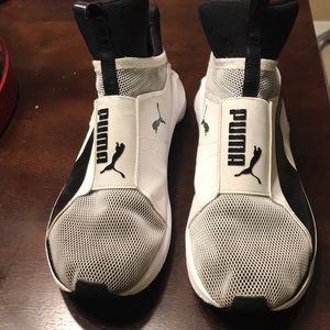 Puma sneakers!